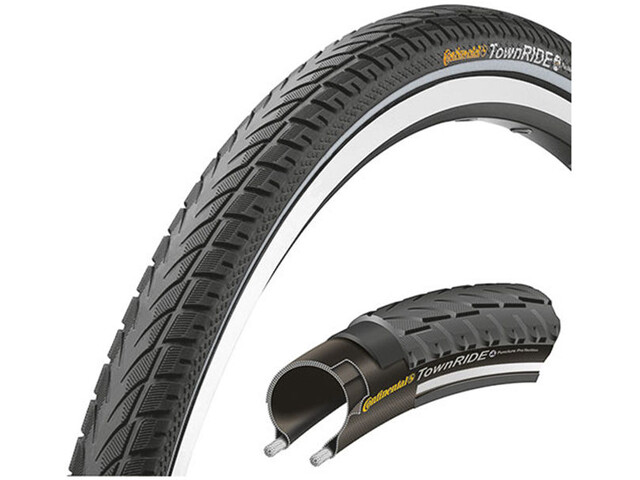Continental Town RIDE Band 26 x 1,75 Puncture Protection draadband Reflex